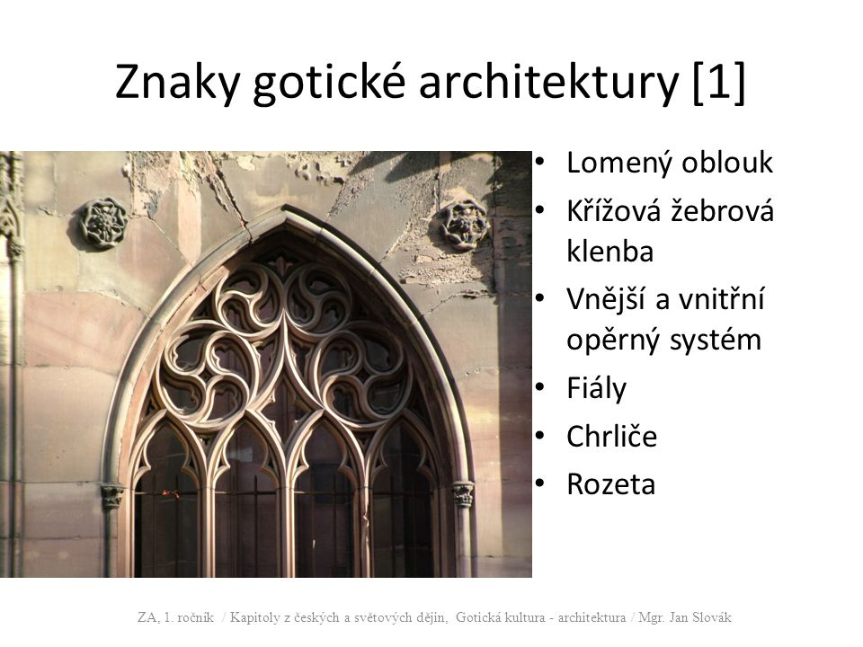 Znaky gotické architektury [1]